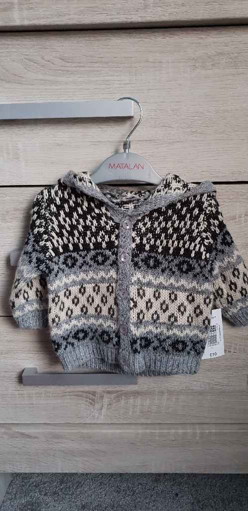 Baby boys cardigan (new born)