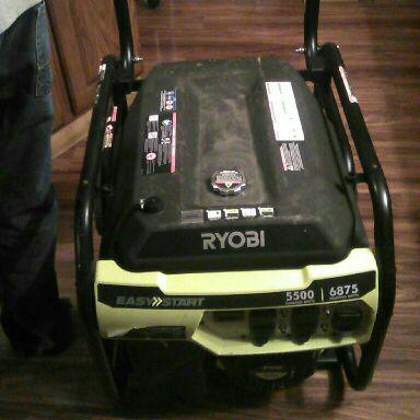 Ryobi 5500 Watt Generator