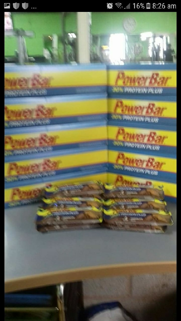 Power bar protein boxes