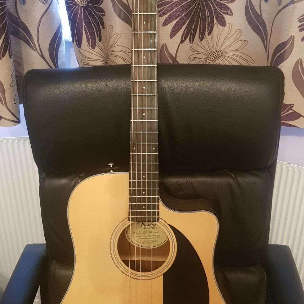 Fender electric acoustic quitar