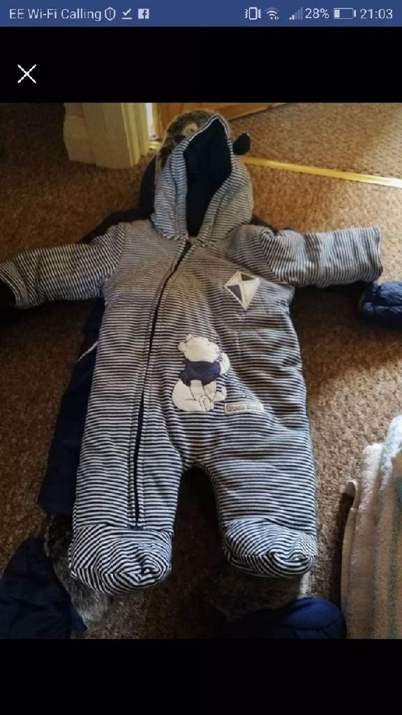 Baby boy snow suites