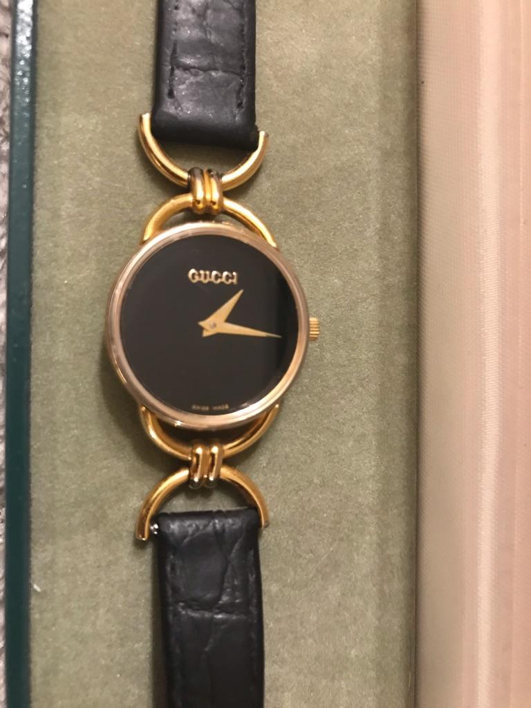 Vintage genuine Gucci ladies watch
