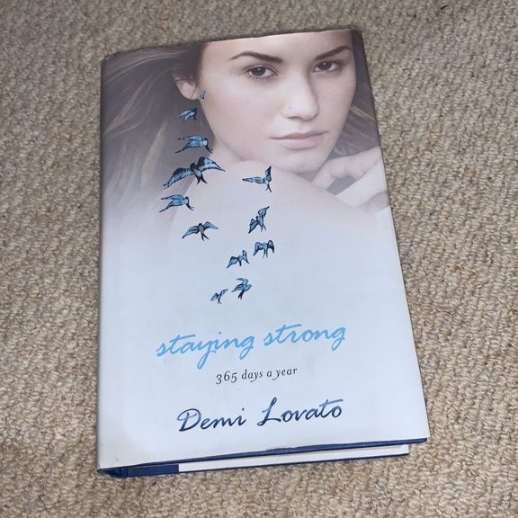Staying strong book by Demi location