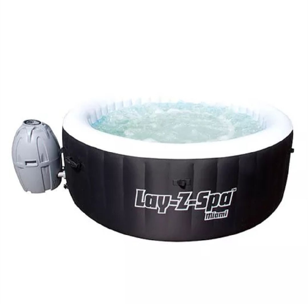 Bestway Inflatable Lay-Z-Spa Miami - 5.9ft
