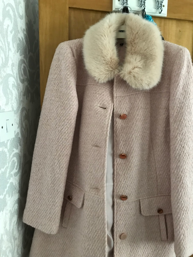 Miss selfridge wool coat