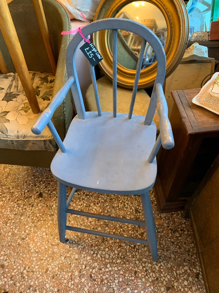 Beautiful child's high chair