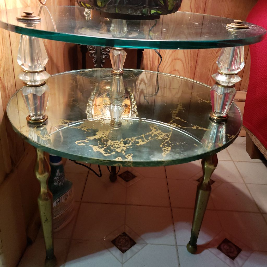 Lamp and Glass Tables