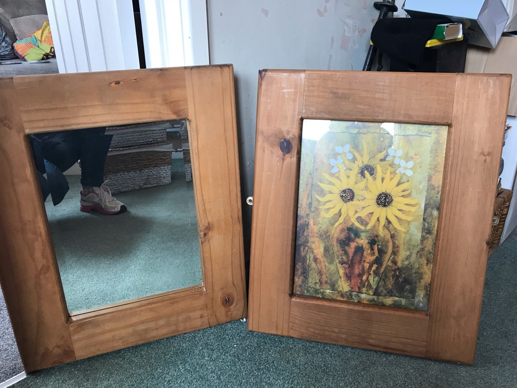 Mirror and picture duo