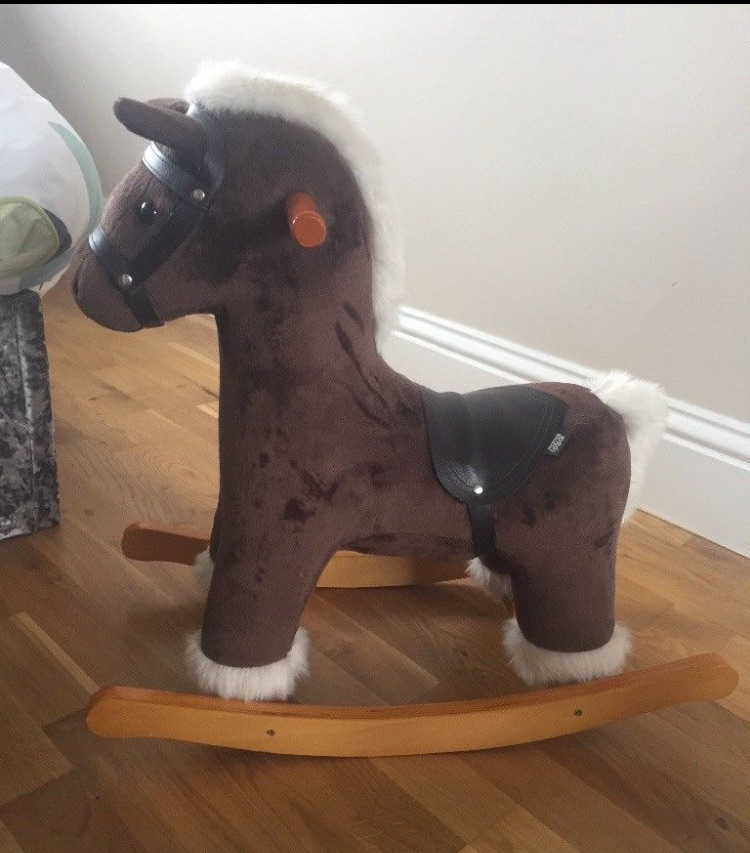 Rocking horse with sound