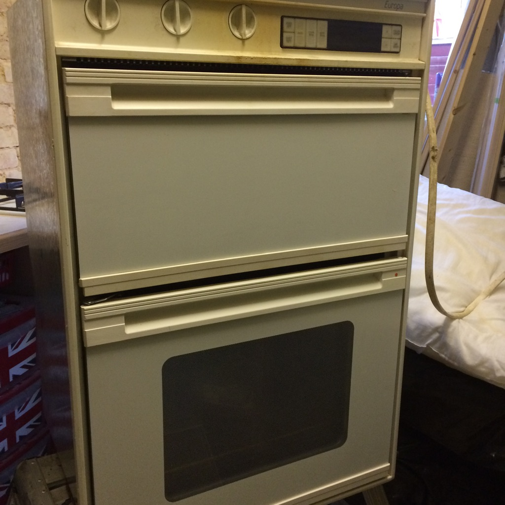 Double Integrated electric oven