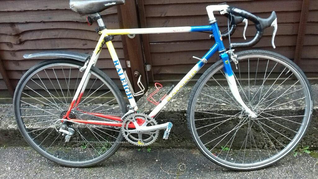 Raleigh Quadra Bike