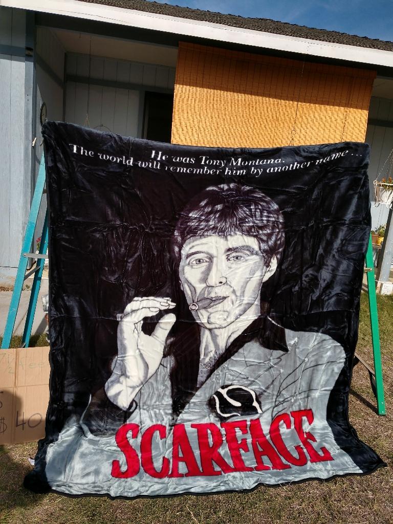 Scarface blanket