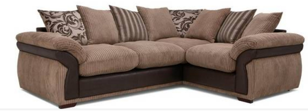 Beautiful Corduroy 4 piece sofa set