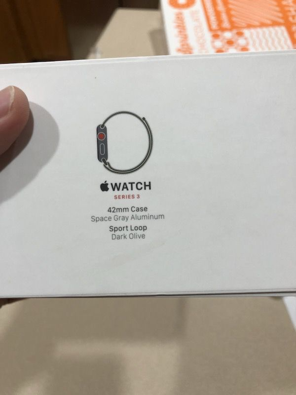 Apple Watch Series 3 Space Grey GPS + Cellular
