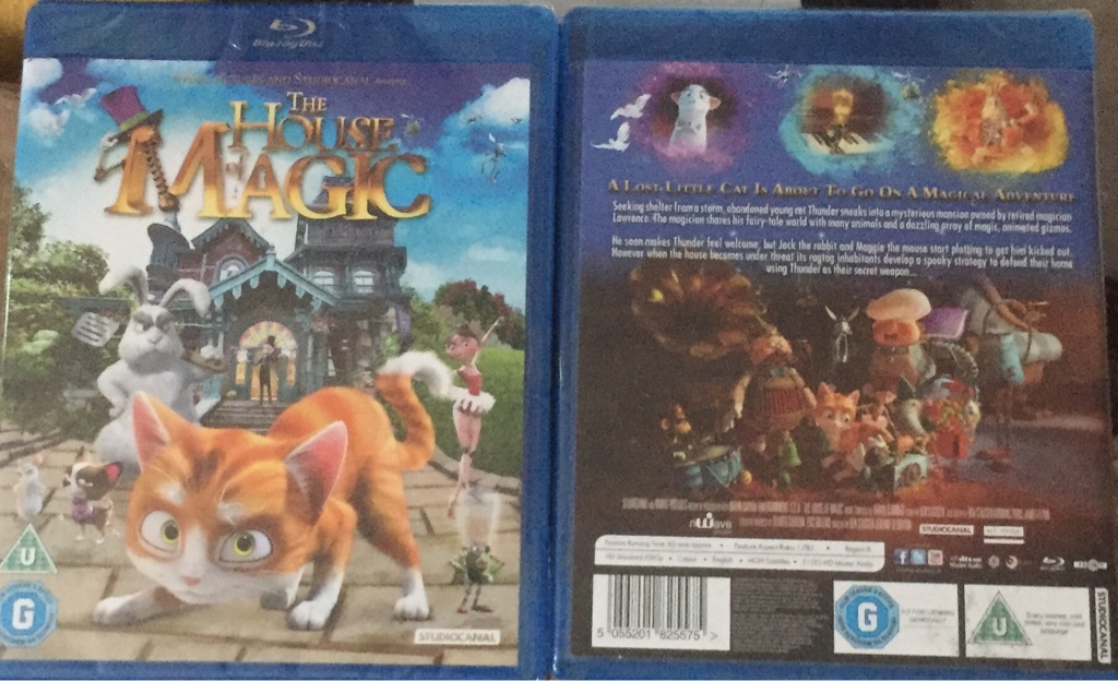 The house of magic/ kids blu-Ray brand new and factory sealed