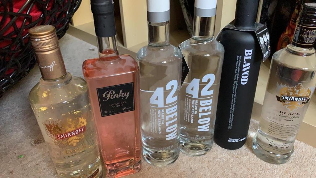 Various alcohol description