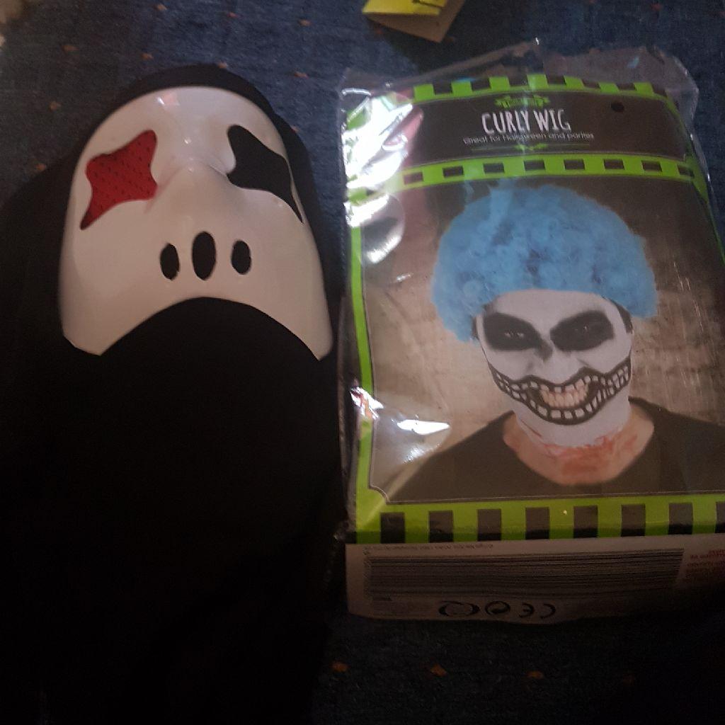 Mask for Halloween