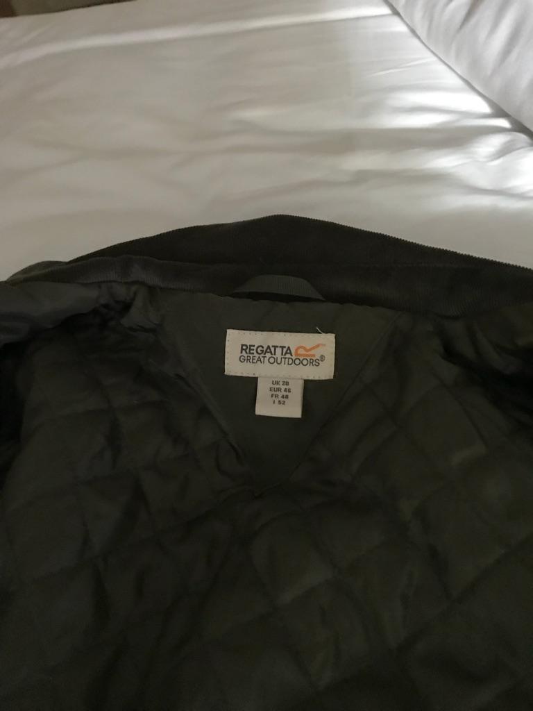 Ladies country jacket green size 18 regatta