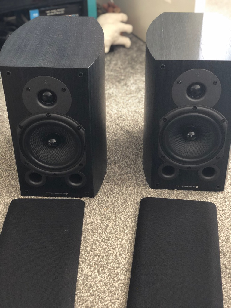 Wharfedale Diamond 9.1 speakers black (pair)