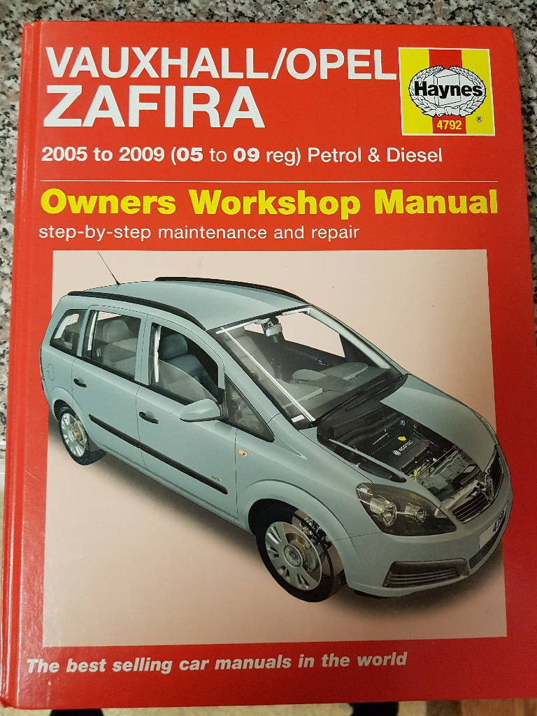Haynes Vauxhall Zafira Manual