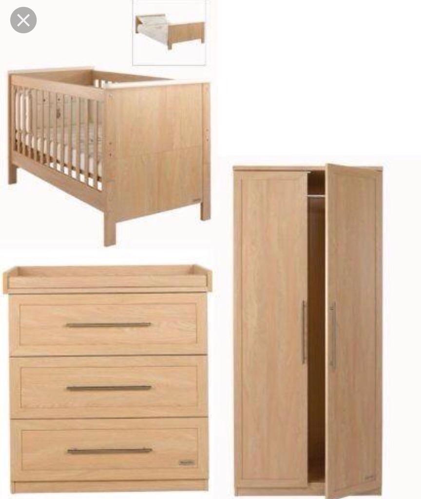 Mamas & Papas Murano 3 piece nursery set.