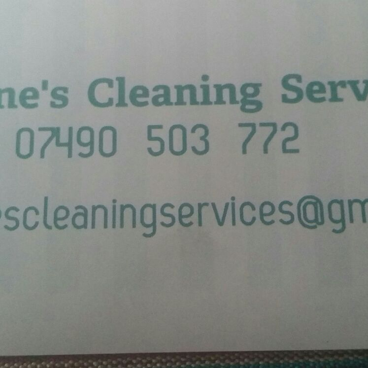Sone's cleaning  services