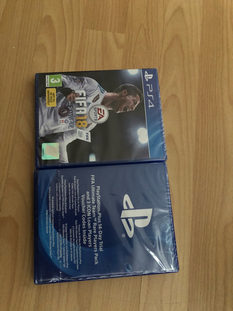 PS4 game - FIFA18