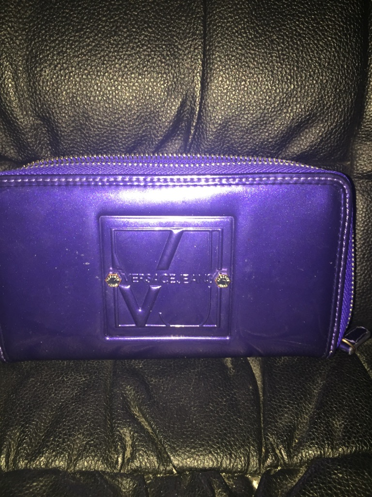 Versace jeans continental purse