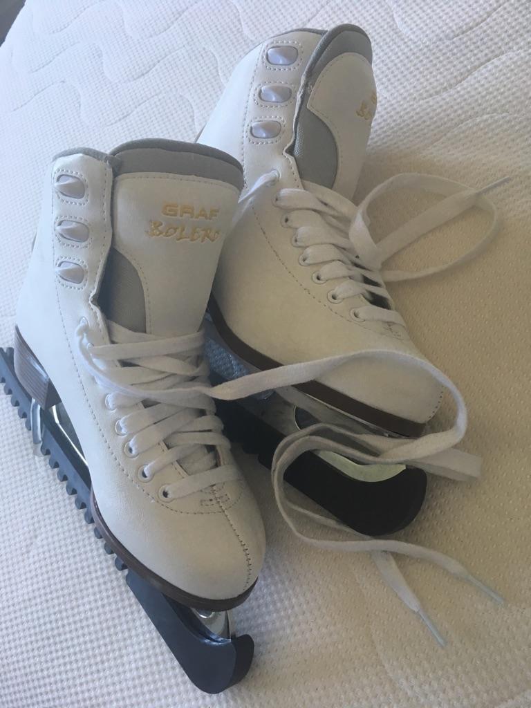 Graf ice skates size 38