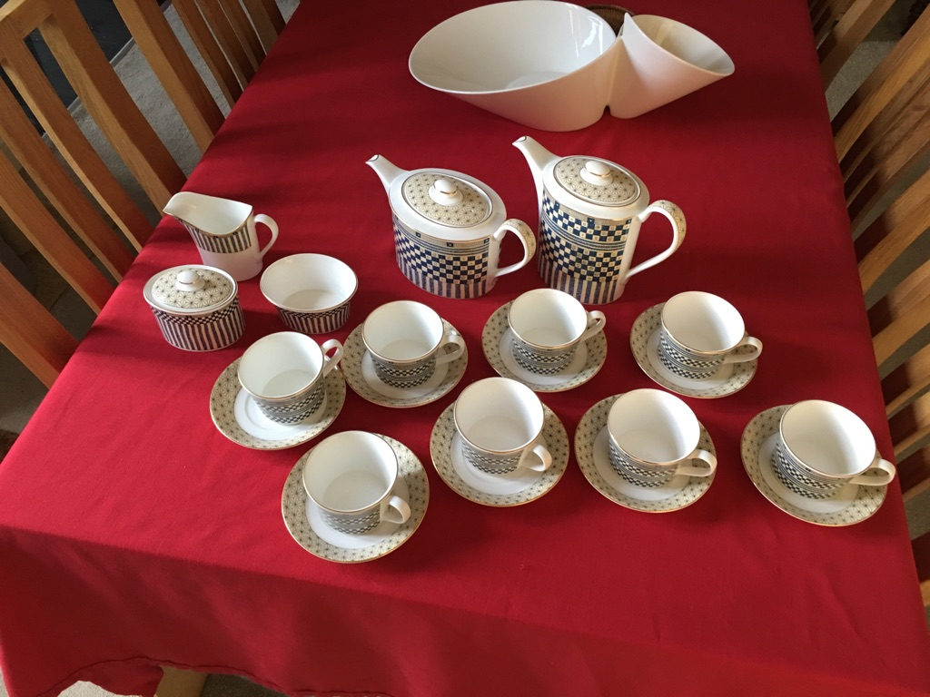 Wedgewood Samurai Tea and coffee set