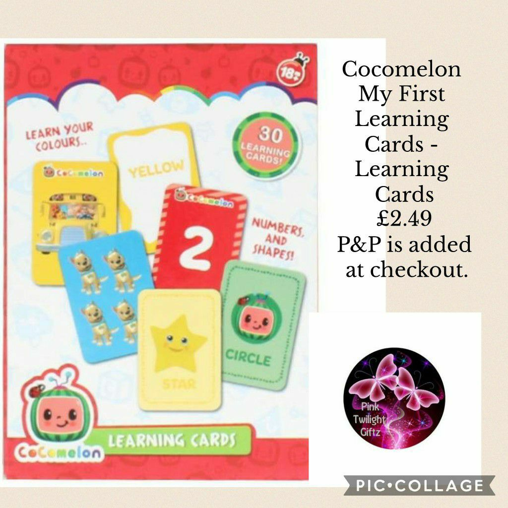 Cocomelon My First Learning Cards - Learning Cards