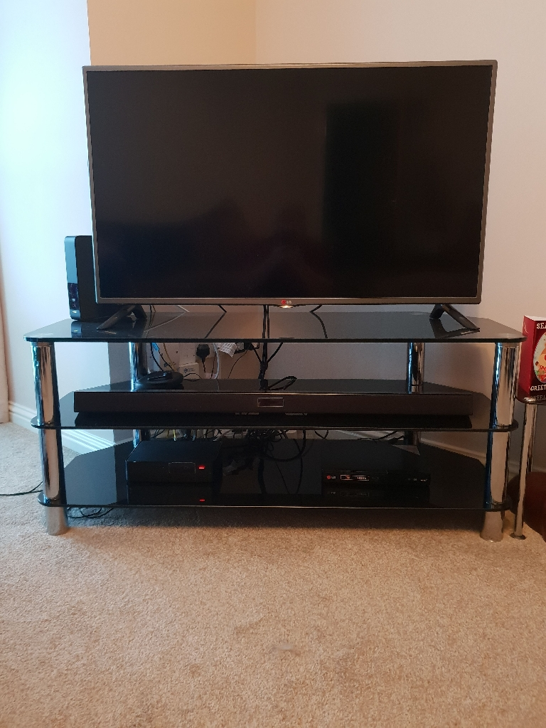 """42"""" LG LCD HD TV and stand"""
