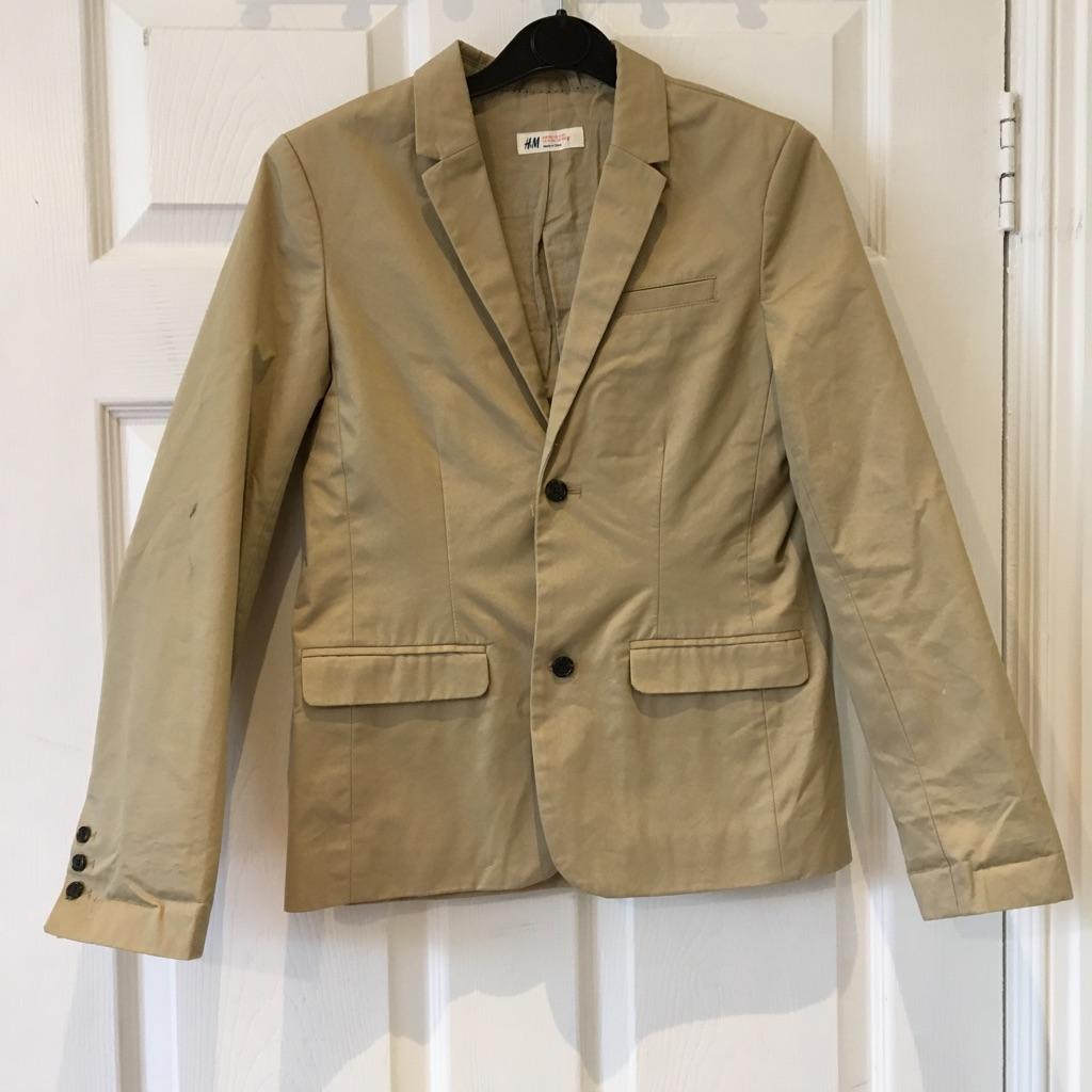 H&M Beige Jacket 11-12 yrs