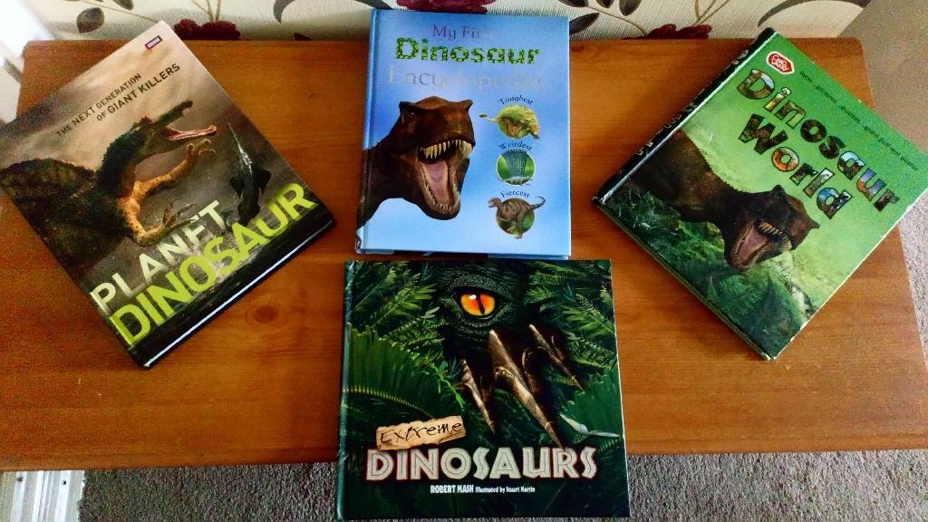 Four Dinosaur Book's
