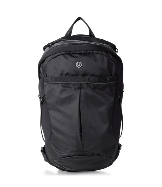 Lululemon Run All Day backpack - Women's black IMMACULATE condition (used once)