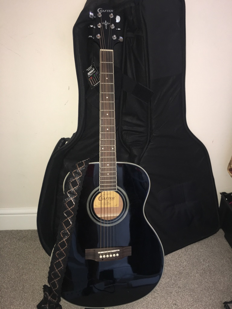 Intermediate acoustic guitar
