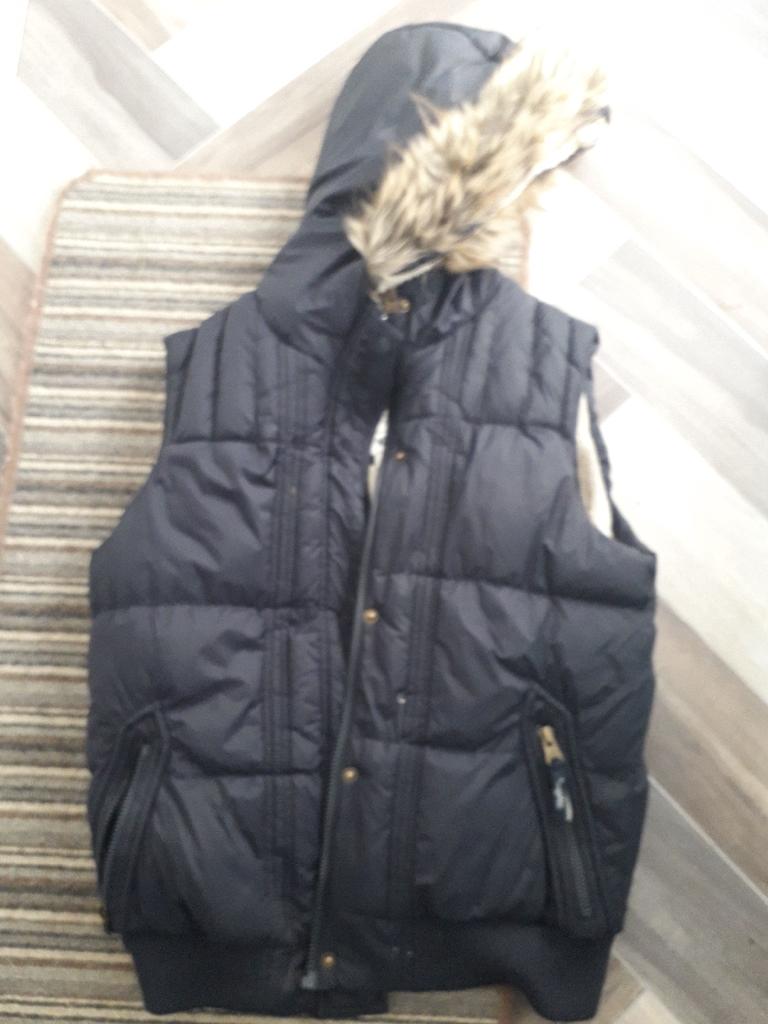 Ladies Navy body warmer size 12