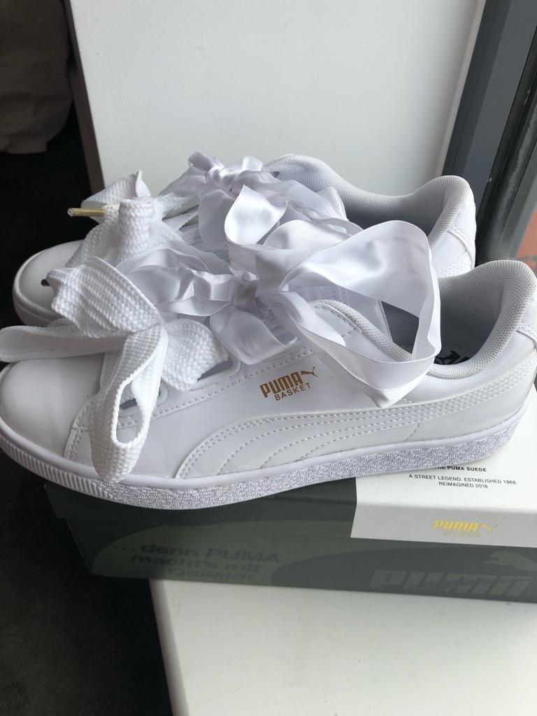 Puma white brand new