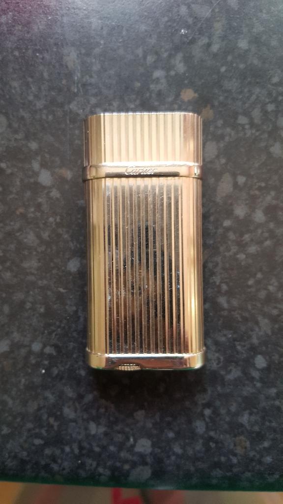 Cartier silver lighter