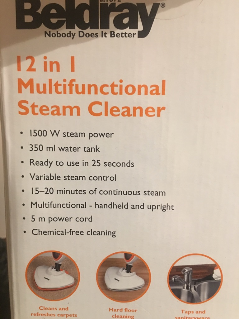 12 in 1 Steam Cleaner