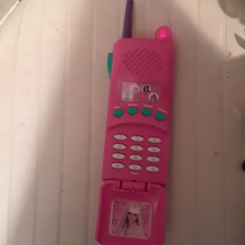 Barbie vintage phone