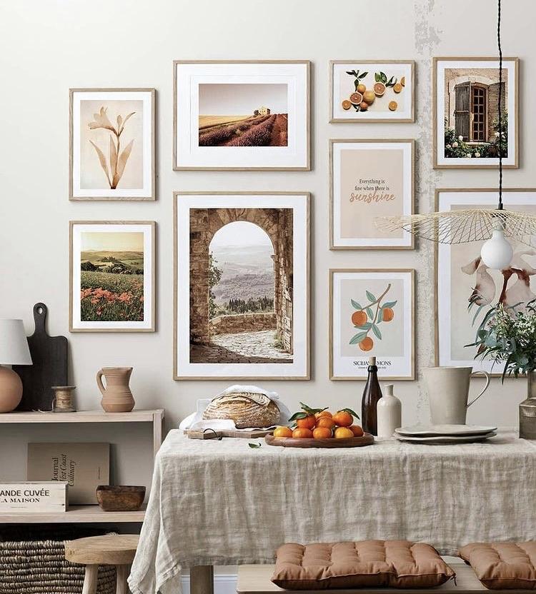Amazing value wall art prints 10% off using my code below