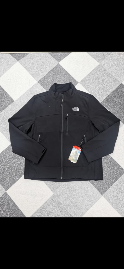 Men's The North Face jacket in black