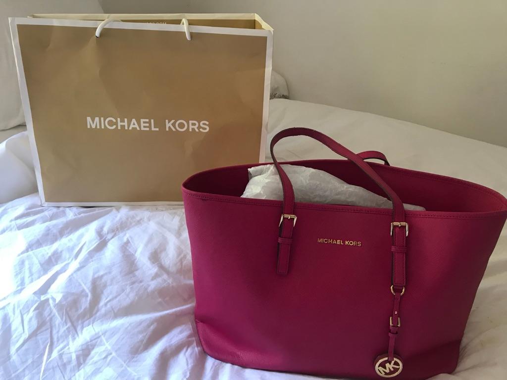 Michael Kors Pink Tote