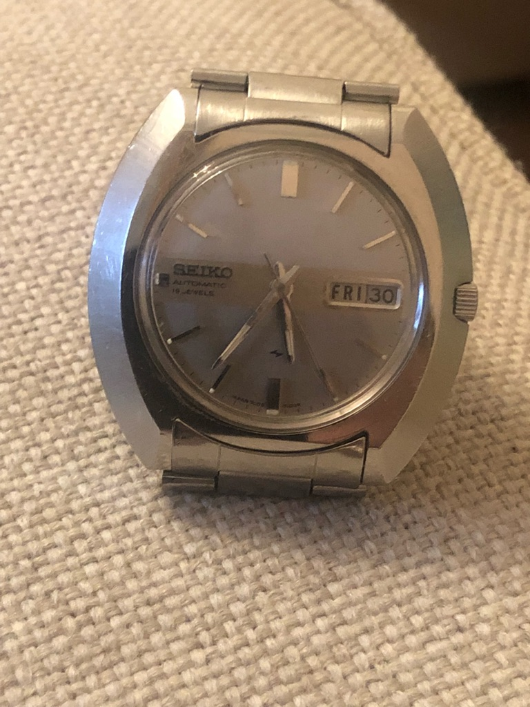 Vintage Seiko automatic watch July of 1975