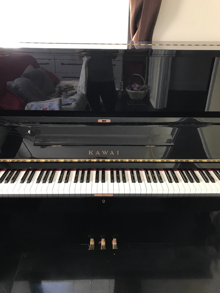 Kawai studio upright piano ks2f