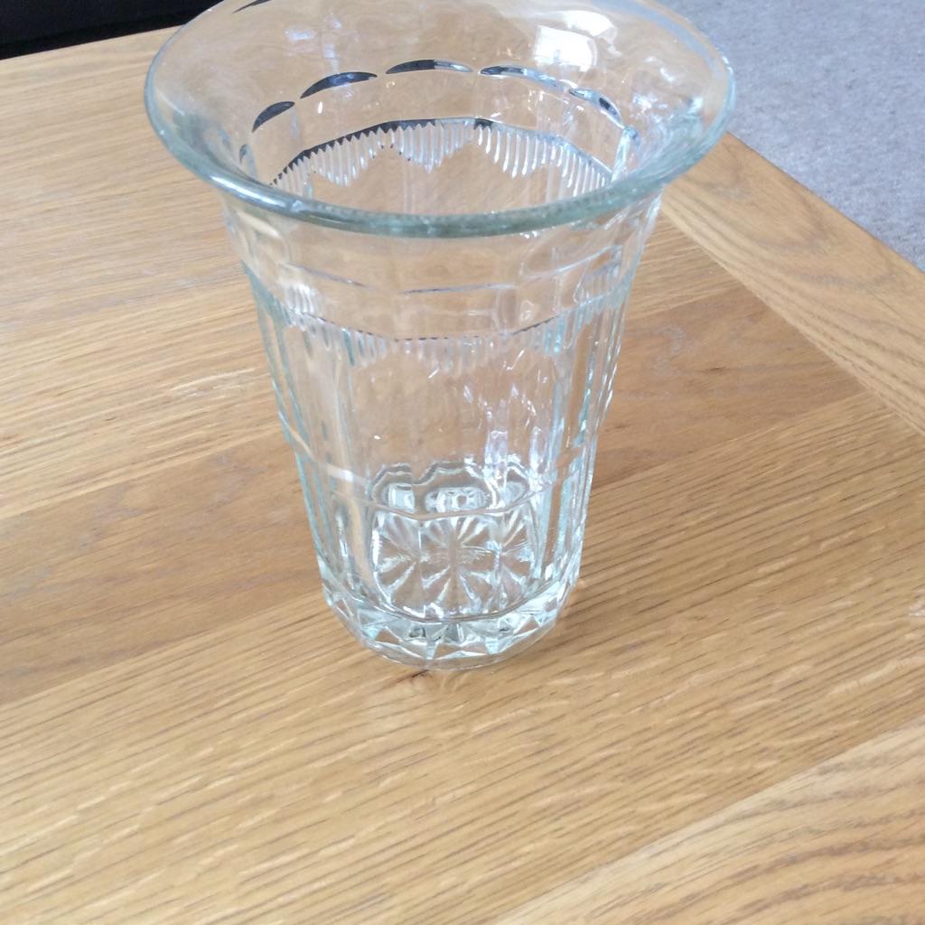 Crystals vase