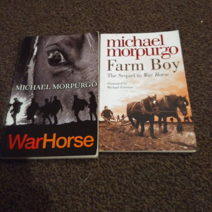 Michael Morpurgo books x 5