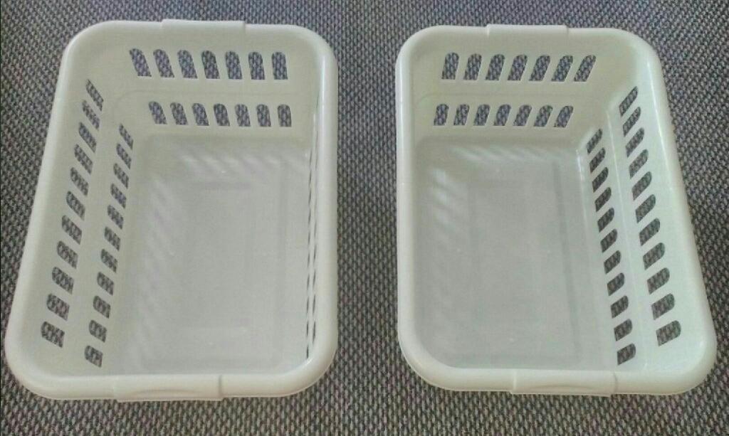 2 x Laundry Basket
