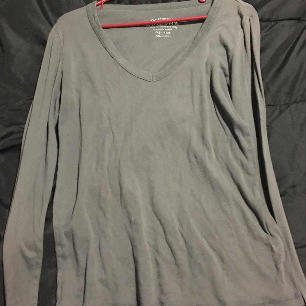 Gray long sleeve